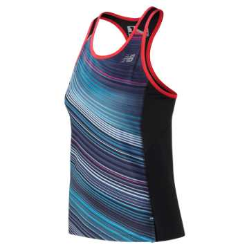 New Balance Printed NB Ice 2.0 Tank, Maldives Blue