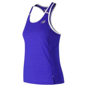 New Balance Printed NB Ice 2.0 Tank, UV Blue