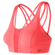 NB Evolve Crop Top, Vivid Coral