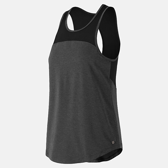 New Balance Mesh Layer Tank, WT81456BKH