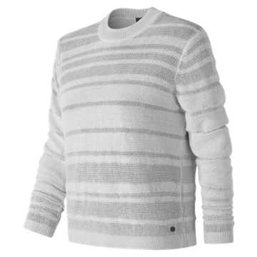 New Balance Sheer Studio Sweater, White