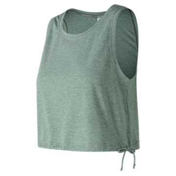 New Balance Studio Cinch Tank, Seed Heather
