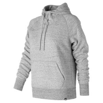 New Balance Heathered Hoodie, Heather Grey