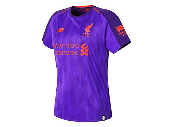 Camiseta Manga Corta Liverpool FC Away Mujer - New Balance 0e77aaff6b3aa