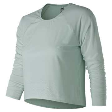 New Balance Captivate Long Sleeve, Ocean Air