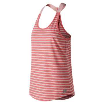 New Balance Novelty Heather Tech Tank, Flame Heather