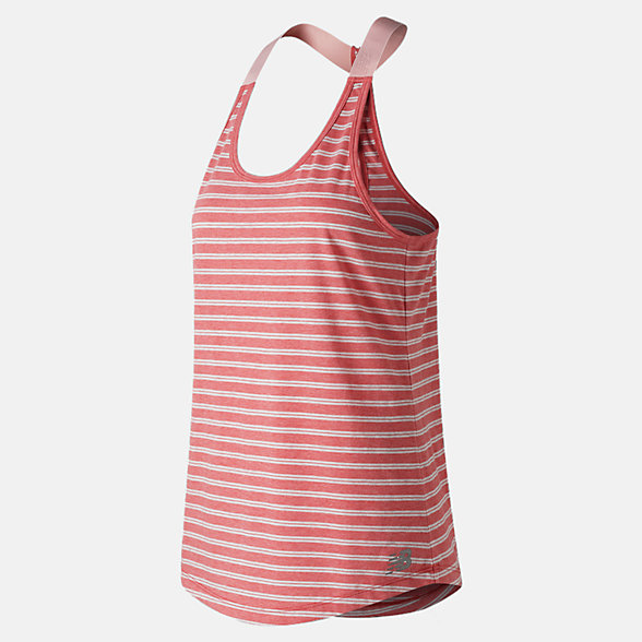 New Balance Novelty Heather Tech Tank, WT83137FMH