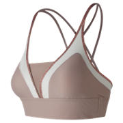 New Balance Revitalize Crop Bra, Au Lait