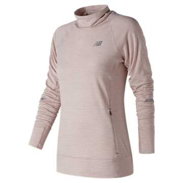 New Balance NB Heat Pullover, Conch Shell Heather