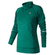 New Balance NB Heat Pullover, Deep Jade Heather