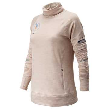 New Balance NYC Marathon NB Heat Pullover, Conch Shell Heather
