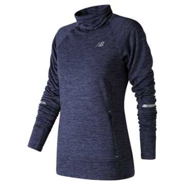 New Balance NB Heat Pullover, Pigment Heather