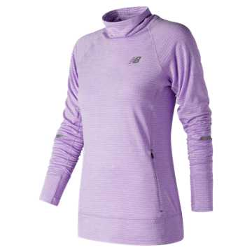 New Balance NB Heat Pullover, Violet Glo Heather