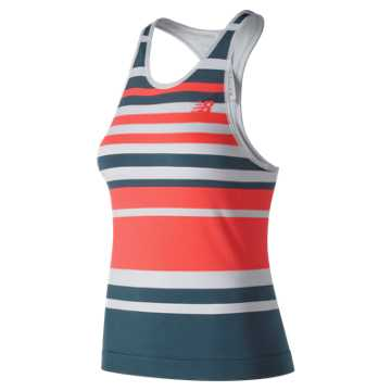 New Balance Tournament Seamless Tank, Light Petrol