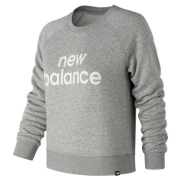 New Balance Essentials FT Crew, Athletic Grey