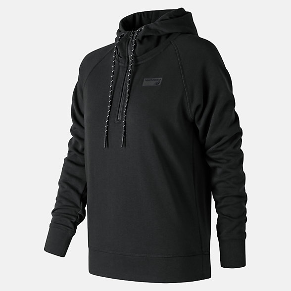 New Balance NB Athletics Pullover, WT83536BK