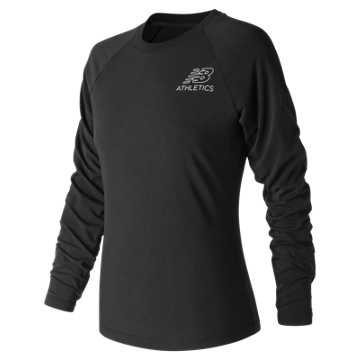 New Balance NB Athletics Long Sleeve, Black
