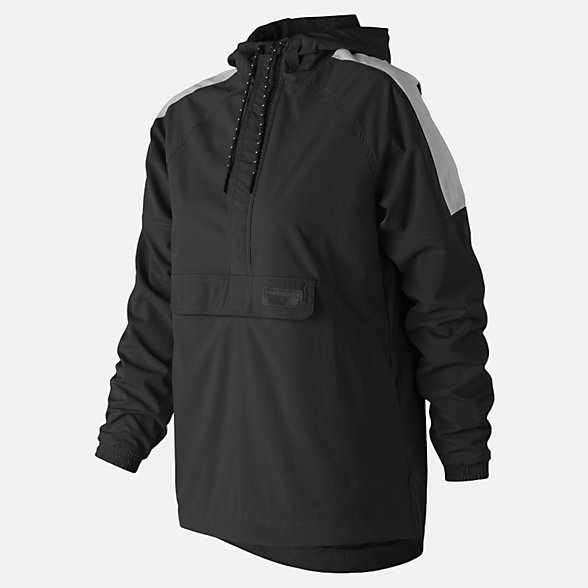 New Balance NB Athletics Anorak, WT83538BK