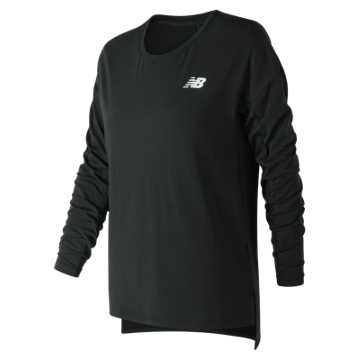New Balance 247 Sport Long Sleeve, Black