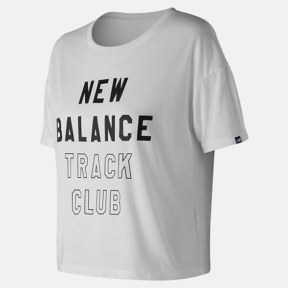 New Balance Essentials Track Club Tee, WT83552WT