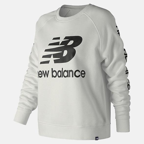 New Balance Essentials NB Logo Crew, WT83560WT