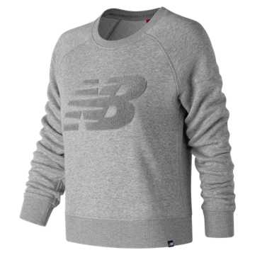 New Balance Varsity Chenille Crew, Athletic Grey