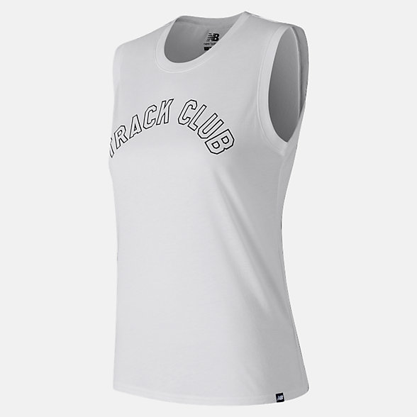 New Balance Essentials Muscle Tank, WT83590WT