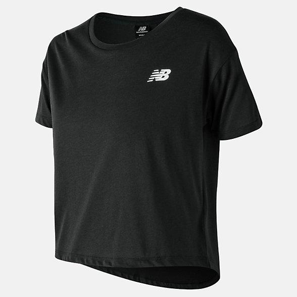 New Balance T-shirt 247 Sport NB, WT83593BK