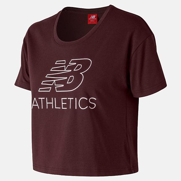 New Balance T-shirt écourté NB Athletics, WT83594NBY
