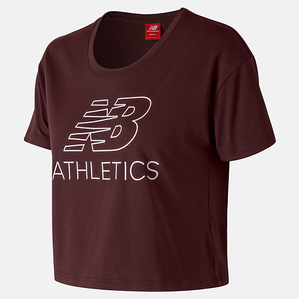 New Balance NB Athletics Cropped Tee, WT83594NBY