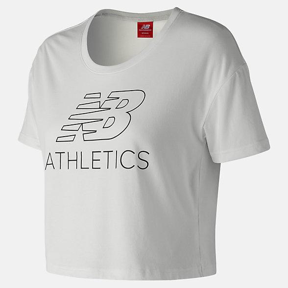 New Balance T-shirt écourté NB Athletics, WT83594WT