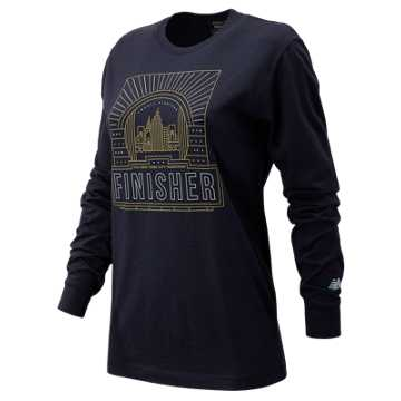 New Balance NYC Marathon Finisher Long Sleeve, Navy