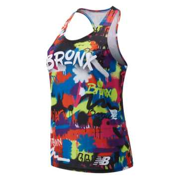 New Balance Bronx 10 Mile Singlet, Multi Color