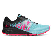 New Balance 910v4 Trail, Sea Spray with Alpha Pink & Black