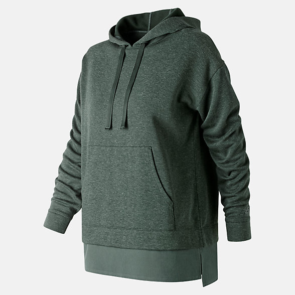 New Balance Captivate Hoodie, WT91102FRO