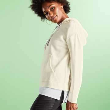 New Balance Captivate Hoodie, White