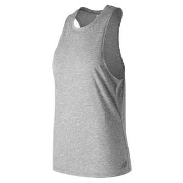 New Balance Relentless Tank, Athletic Grey