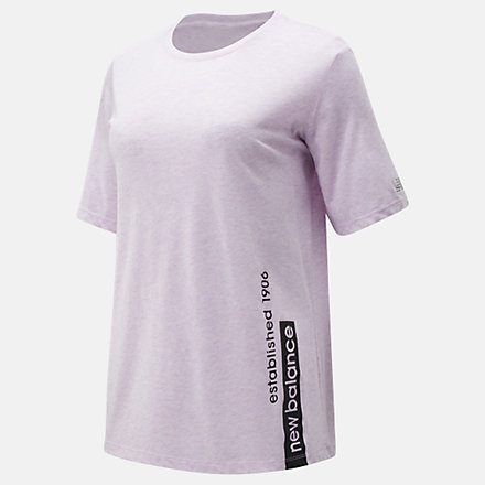 New Balance Relentless Graphic Tee, WT91135VTH image number null