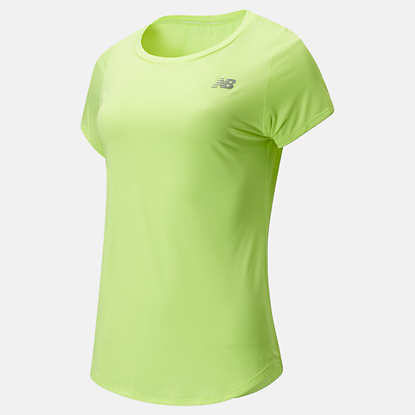 New Balance Accelerate Short Sleeve v2, WT91136LS2