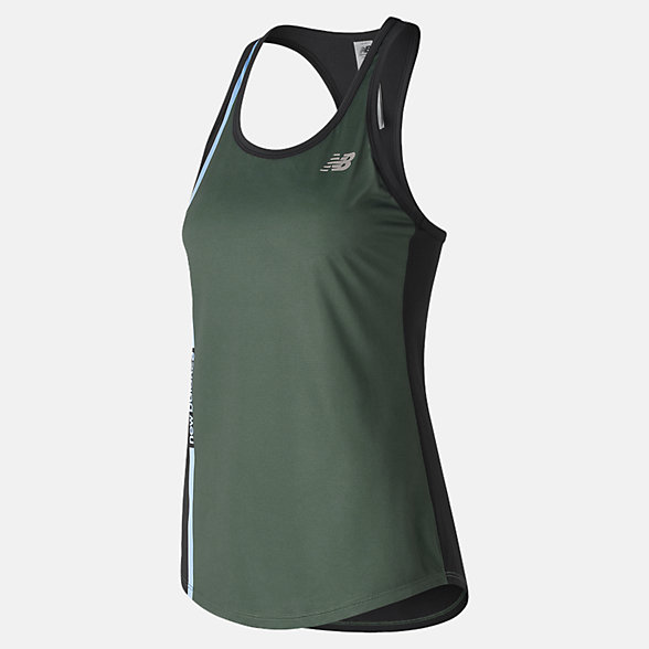 New Balance Camisole imprimée Accelerate V2, WT91139BM