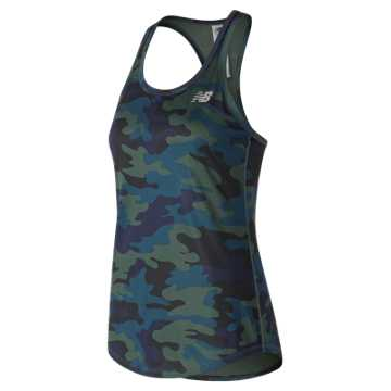 New Balance Printed Accelerate Tank v2, Faded Rosin
