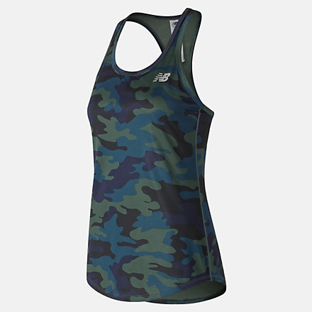 New Balance Printed Accelerate Tank v2, WT91139FRS image number null