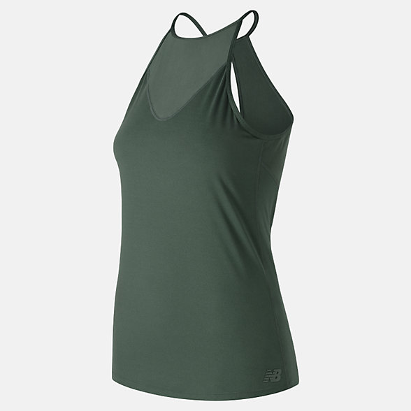 New Balance Camisole à trou de serrure Captivate, WT91141FRO