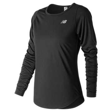 New Balance Accelerate Long Sleeve v2, Black
