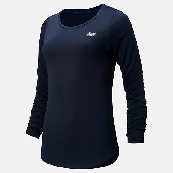 New Balance Accelerate Long Sleeve v2, WT91142ECL