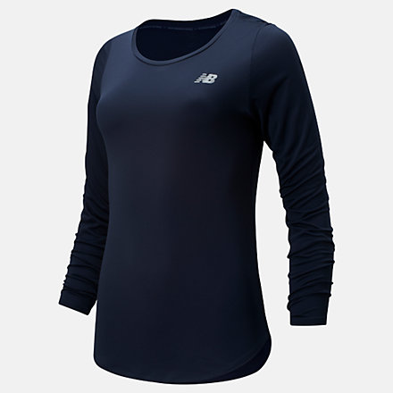 NB Accelerate Long Sleeve v2, WT91142ECL image number null