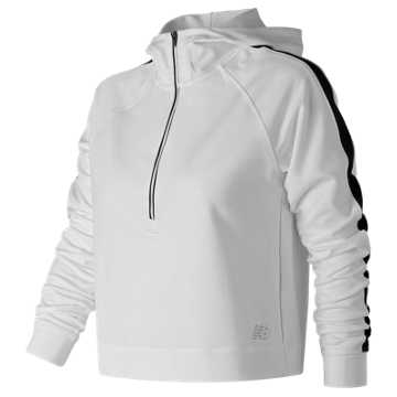 New Balance Anticipate Crop Pullover, White