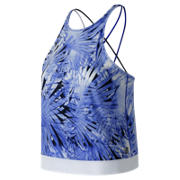 NB Printed Feel The Cool Tank, UV Blue