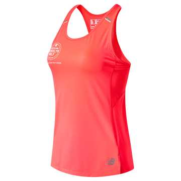 New Balance Brooklyn Half NB Ice 2.0 Tank, Guava
