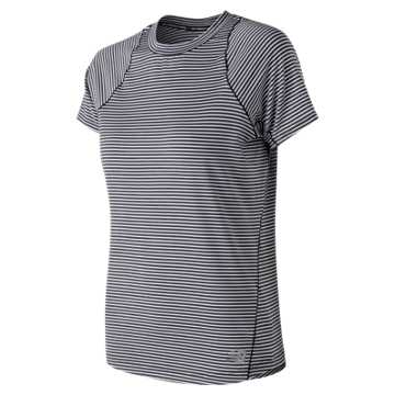 New Balance Seasonless Short Sleeve, Eclipse Heather